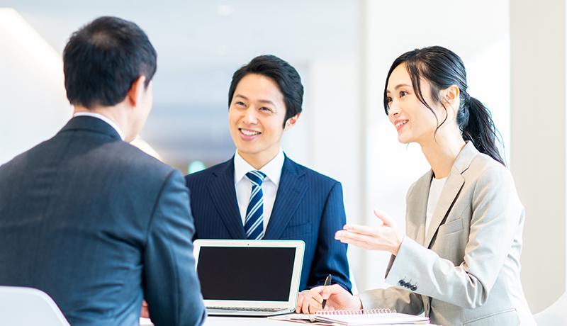 内定・入社までの5ステップ 企業へのご推薦